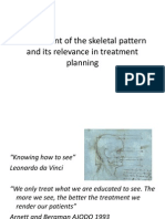 Assessment of the Skeletal Pattern and Its Relevance in Treatment Planning