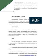 Monografia Acerca de Los Baruya de Godelier