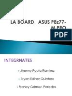 Diapositivas de La Board Asus p8z77-m Pro