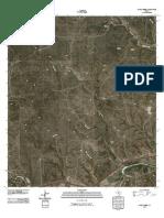 Topographic Map of Stark Creek