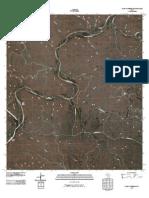 Topographic Map of Clark Waterhole