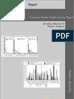 European Power Quality Survey Report