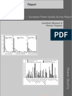 European Power Quality Survey Report
