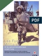FFAA y Operaciones Para Hacer Cumplir La Ley