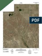 Topographic Map of Stinnett Station