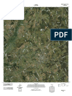 Topographic Map of Bremond