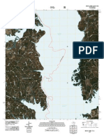 Topographic Map of Brushy Creek