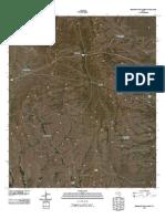 Topographic Map of Buckhorn Draw West