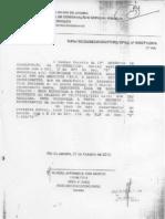Notificação de Zero Dias da Prefeitura do Rio Contra a Vila Harmonia