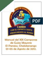 Manual de Camp de Guias Mayores 2012
