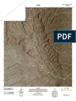Topographic Map of Burro Canyon