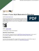 create a vector style illus