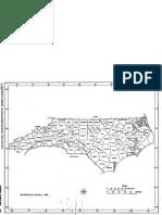 Outline Map of North Carolina