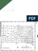 Outline Map of South Dakota