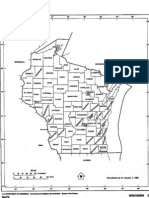 Outline Map of Wisconsin