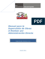 Manual Supervision Obra Administracion Directa