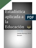ESTADISTICA EDUCACION