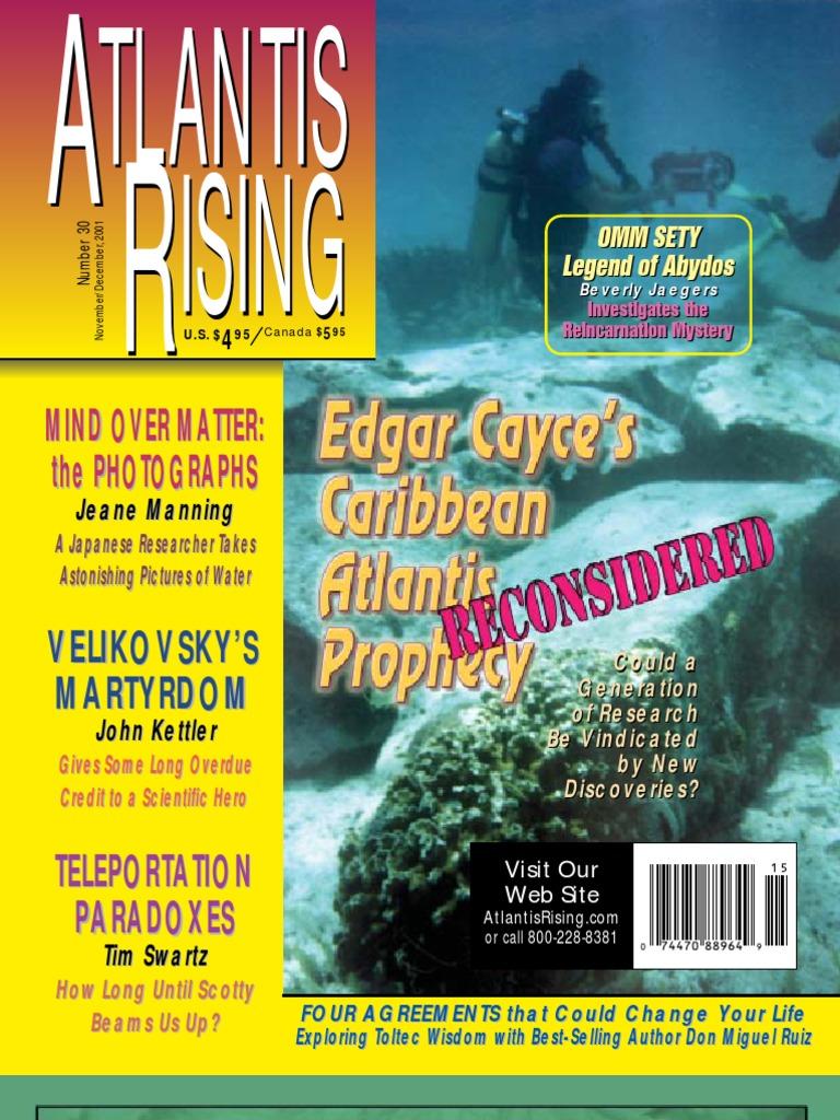 Atlantis Rising Magazine #30 - Edgar Cayce's Caribbean