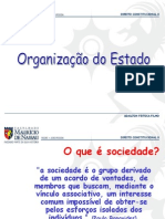 Organizacao Do Estado