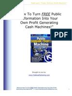 Public Domain Profit Machine