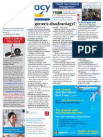 Pharmacy Daily for Tue 31 Jul 2012 - Generic disadvantage, Zinnat reimbursement, Future collaboration and much more...