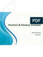 Strategic & Financial Planning