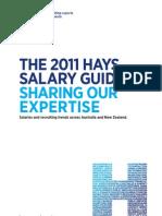 Hays Salary Guide 2011 AUSTRALIA IT