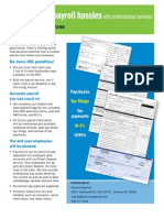 payroll flyer
