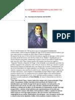 El Padre de la Independencia del Perú y de Sudamérica