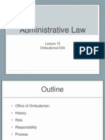 Admin Lect 1415 - Ombudsman