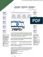 13 Fakta Terselubung Bangsa Israel Dan Yahudi