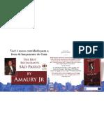 Convite de Lançamento Guia Amaury Jr