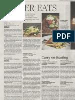 BusinessTimesWeekend - Easter Eats - 07&08Apr2012