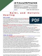 Reiki and Holistic Healing