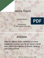 Anemia Gravis