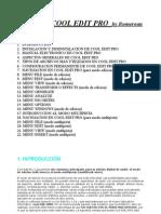 Manual en Español de Cool Edit Pro 2 0