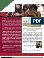 Jan 09 Newsletter Inside