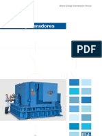 WEG Turbogenerador Catalogo Espanol