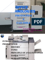 How Photocopier Works