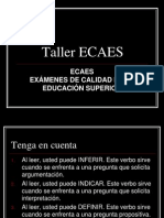 Taller Ecaes