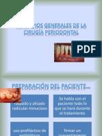 PRINCIPIOS GENERALES DE LA CIRUGÍA PERIODONTAL