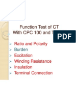 Function Test of CT