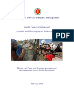 SUPER CYCLONE SIDR 2007 - Impacts and Strategies for Interventions