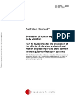 As 2670.4-2001 Evaluation of Human Exposure to Whole-body Vibration Guidelines for the Evaluation of the Effe