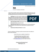 Zambia - IMF Country Report - Article 4 Consultation July 2012