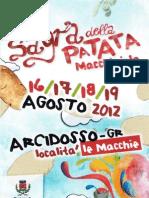 Sagra Patata Macchiaiola 2012
