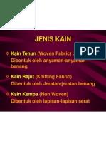Teknologi Pembuatan Kain-2009