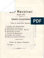 Revolver Suisse Mle 1878 (en français et allemand)