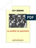Debord - La Societe Du Spectacle