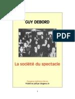 Debord - La Societe Du Spectacle
